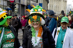 Saint Patricks Day in Bucharest 6 Stock Image