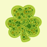 St Patricks Days card Royalty Free Stock Images