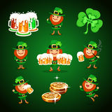 St.Patricks Days set Royalty Free Stock Photography