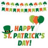 St Patricks de kaart van de Daggroet royalty-vrije stock afbeeldingen