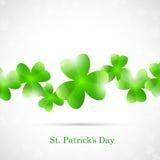 St. Patricks de Kaart van de Dag Stock Afbeelding