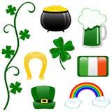 St. Patricks de klem-kunst van de Dag Stock Afbeeldingen