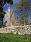 St Patricks in de lente, Preston Patrick, Cumbria. Royalty-vrije Stock Foto