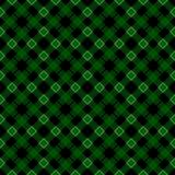 St Patricks de plaid van het daggeruite schots wollen stof Schots patroon in groene en witte kooi Schotse kooi Traditionele Schot royalty-vrije illustratie