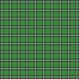 St Patricks de plaid van het daggeruite schots wollen stof Schotse kooi vector illustratie