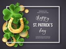St Patricks de vakantieontwerp van de Daggroet royalty-vrije illustratie