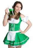St Patricks de Vrouw van de Dag Stock Fotografie