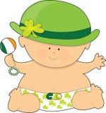 St. Patricks del bebé Fotos de archivo