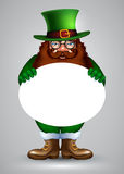 St.Patricks design Royalty Free Stock Photo