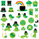 St Patricks dnia clipart Fotografia Royalty Free