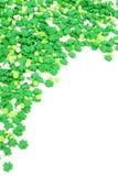 St Patricks dnia cukierku granica obraz royalty free