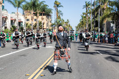 St. Patricks dnia parada Zdjęcia Stock