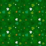 St. Patricks dnia wzór Zdjęcie Stock