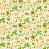 St Patricks dnia wzór Zdjęcia Royalty Free