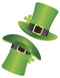 St Patricks Dzień Leprechaun Kapeluszu Ilustracja Obrazy Stock