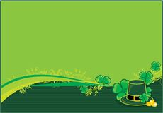 St. Patricks frame Stock Images