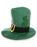 St Patricks Hat. St patricks day hat studio cutout Royalty Free Stock Photography