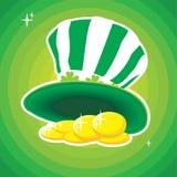 St. Patricks hat Stock Photography