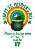St Patricks het Ontwerp van de Dag Royalty-vrije Stock Foto's