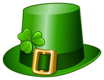 St Patricks hoed Stock Foto