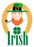 St. Patricks Irish Design Royalty Free Stock Image