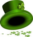 St. Patricks kapelusz Fotografia Royalty Free