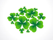 St patricks leaf Royalty Free Stock Image