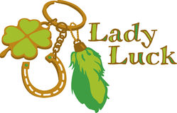 St. Patricks Luck Charms Royalty Free Stock Image