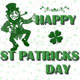 St patricks vector Royalty Free Stock Images