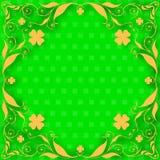 St- Patricktageskarte Stockfotografie