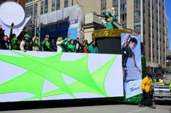 St- Patricktagesparade Stockfotos