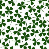 St- Patricktagesvektor-Grußkarten-Abdeckungsdesign Lizenzfreies Stockbild