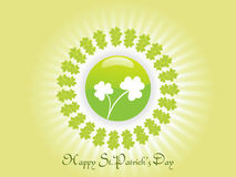St. patrics day illustration background Stock Photos