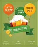 St. Patrics Day poster Royalty Free Stock Photography
