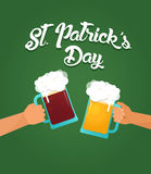 St. Patrics Day poster Royalty Free Stock Photos