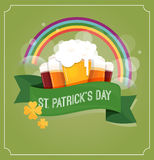 St. Patrics Day poster Royalty Free Stock Photo