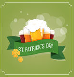 St. Patrics Day poster Royalty Free Stock Image
