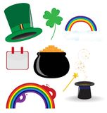 St. Patrics Icon Stock Photos