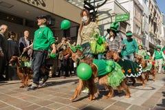 St. Patrik的天横滨,日本 免版税图库摄影