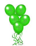St Patrik's Balloons Stock Images