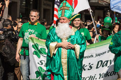 St. Patrik's day Yokohama, Japan Stock Image