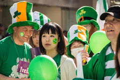 St. Patrik's day Yokohama, Japan Stock Photo