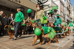 St. Patrik's day Yokohama, Japan Royalty Free Stock Photography