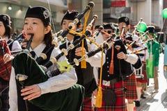 St. Patrik's day Yokohama, Japan Royalty Free Stock Photo