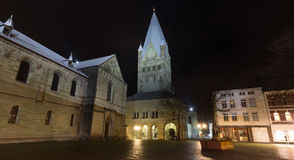 St patrokli dom soest germany in the evening Royalty Free Stock Image