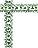 St Patty's Day Border Stock Images