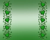 St Patty's Day Border Royalty Free Stock Photography