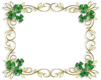 St Patty's Day Border Stock Photos