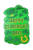 St. Patty's Day Sign Royalty Free Stock Images