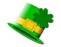 St. Patty's Hat. St. Patricks hat Royalty Free Stock Photo